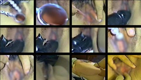 産婦人科の女性器(バギナ)コレクションのドアップ動画が無修正で流出!