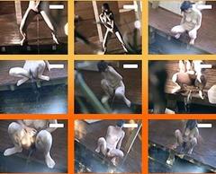 露天風呂で放尿する女たちを盗撮!必見オシッコ映像!