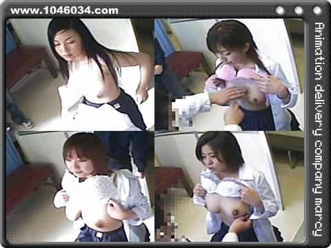 女子校生「身体検査盗撮」動画ですよ~。